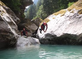 Canyoning Zillertal Action