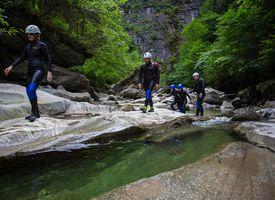 Schluchtenwandern im Zillertal