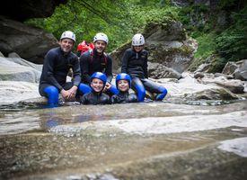Einfache Canyoningtour für Einsteiger
