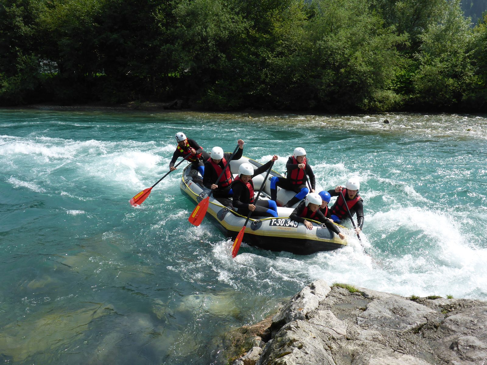 Rafting-Action © Andreas Monsberger