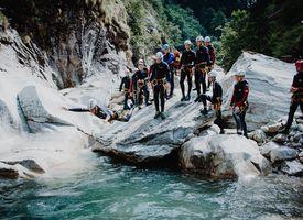 Canyoning Tour Blaue Lagune