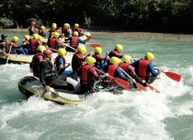 Rafting Action Zillertal