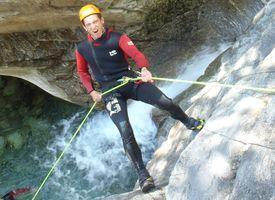 Canyoning-Reisen Abseilen