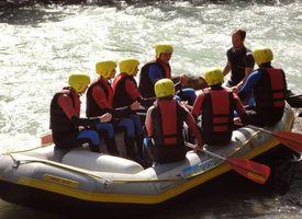 Freiluftakademie Rafting Ziller